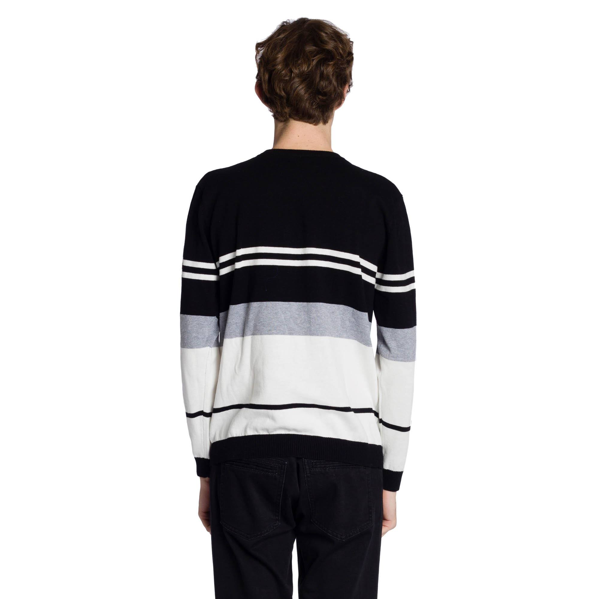 Thompson Long Sleeve Sweater - Black