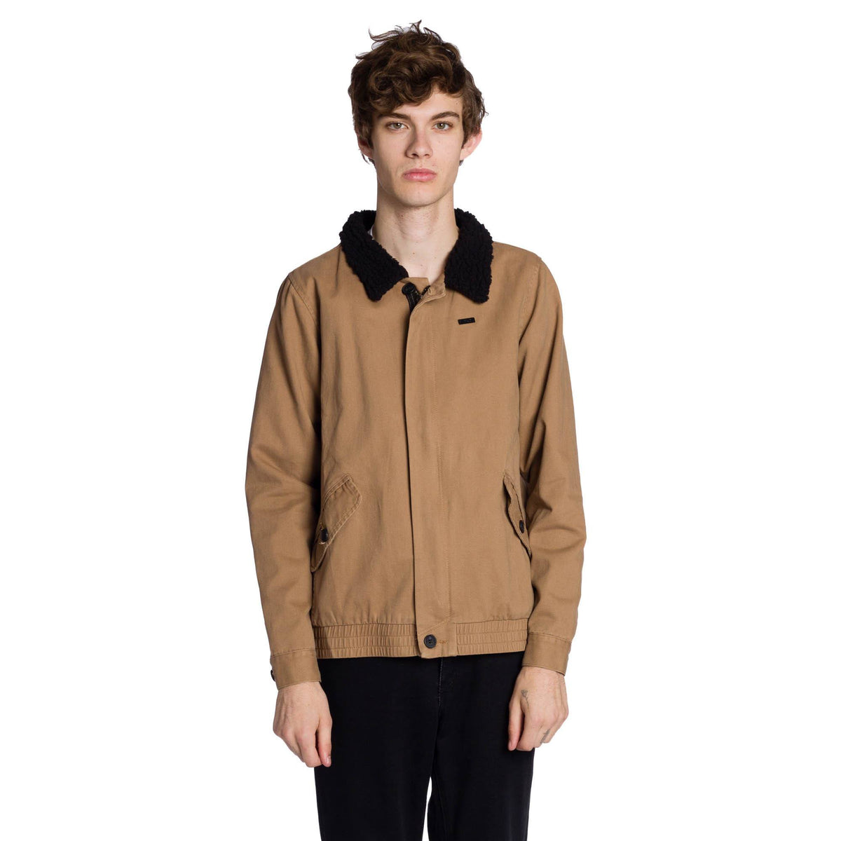 Aviator Jacket - Tobacco Brown
