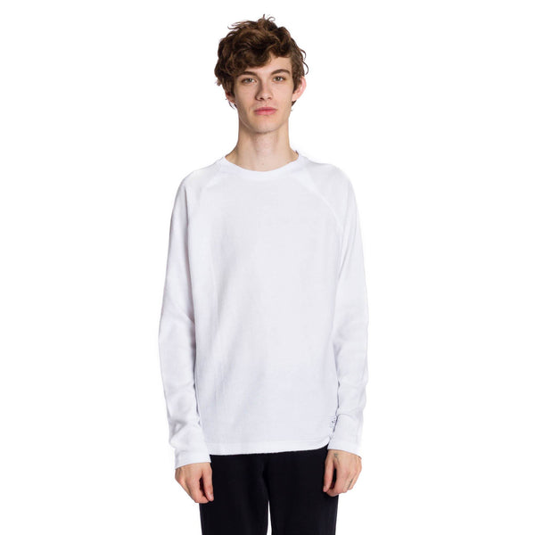 Greyson Knitted Long Sleeve Pullover - White