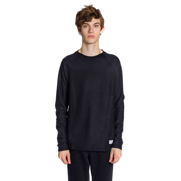 Greyson Knitted Long Sleeve Pullover - Black