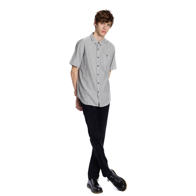 Trump Short Sleeve Shirt - Light Grey