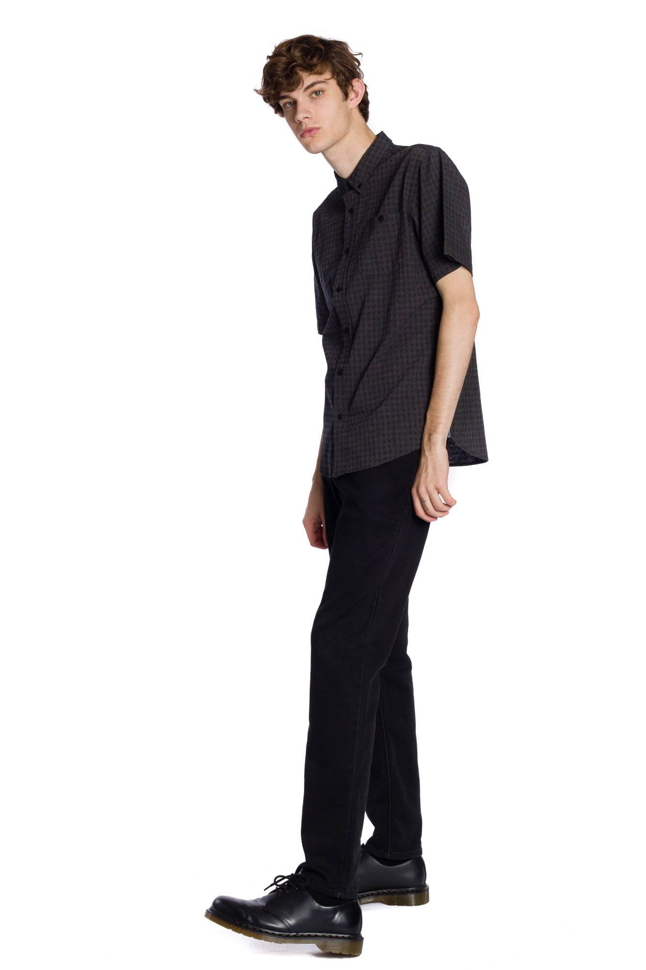 Franklin Short Sleeve Shirt - Black