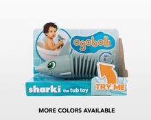 Load image into Gallery viewer, OgoBolli Sharki Tub Toy
