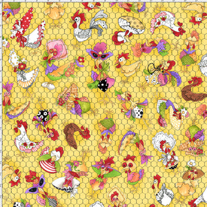 Coopers Yellow Fabric