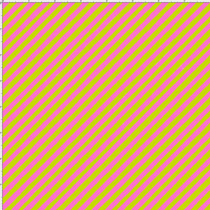 Bias Stripe Bold Green / Pink Fabric