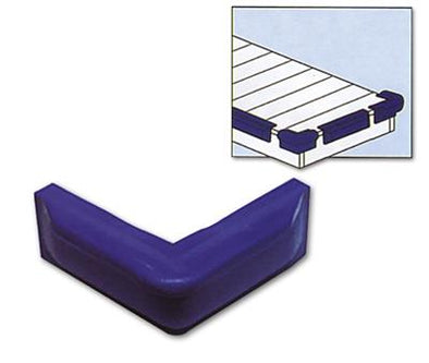 Hollex Fender Jetty Hoek - 10x50cm - Wit