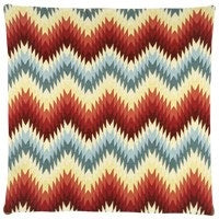 Bobbie Zigzag cushion 45x45 Multicolor