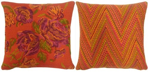 Missy cushions 45x45 s/2 red