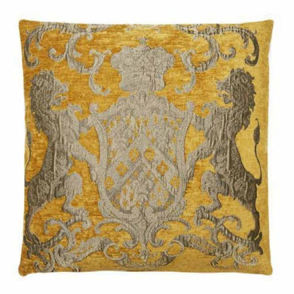FS Home Collection Fiori - Kussen - Ochre - 55 x 55 cm
