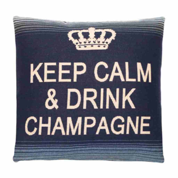 FS Home Collection - Keep Calm - Champagne Blue: Grote Collectie!!