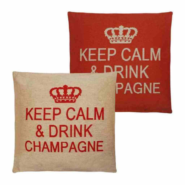 FS Home Collection - Keep Calm - Champagne Orange: Grote Collectie!!