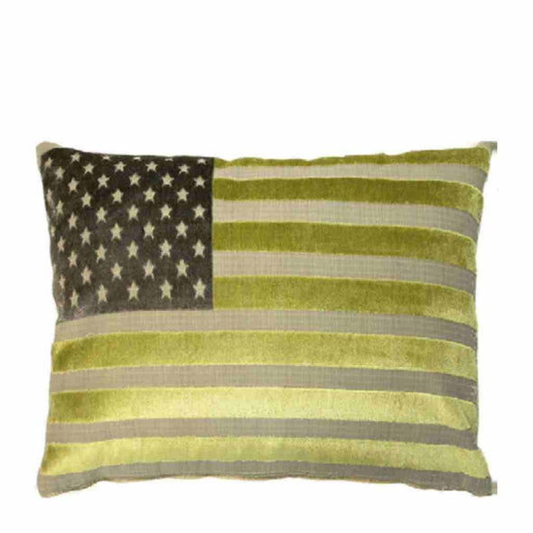 FS Home Collection - US Velvet - Kussen - Green : SCHERP GEPRIJSD!