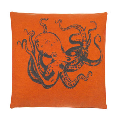 FS Home Collection - Zeedieren - Orange - Octopus: SCHERP GEPRIJSD!!