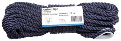 Hollex Ankerlijn Navy 12mm 30mtr - 3str