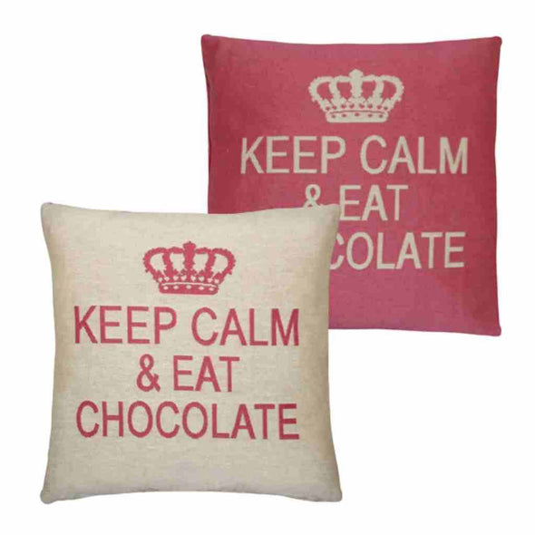 FS Home Collection - Keep Calm - Chocolate Pink: Grote Collectie!!