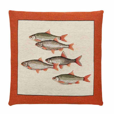 FS Home Collection - Ocean life - Orange - Vis: SCHERP GEPRIJSD!!