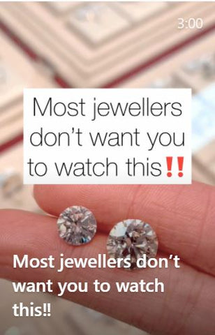 Just Gold Jewellery. Most Jewellers Dont Want You To Watch This. Loose Diamonds Sydney.