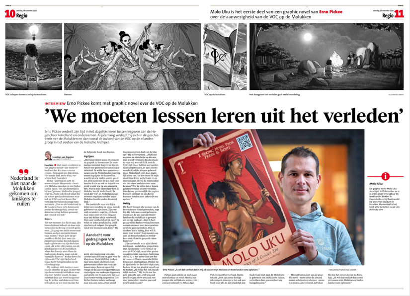 #6 Haarlems Dagblad - I want lessons to be learned from our past