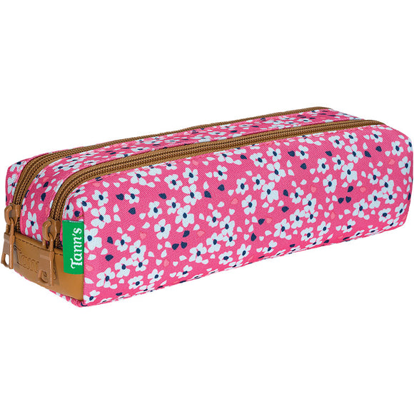 Trousse double Rose Tann's