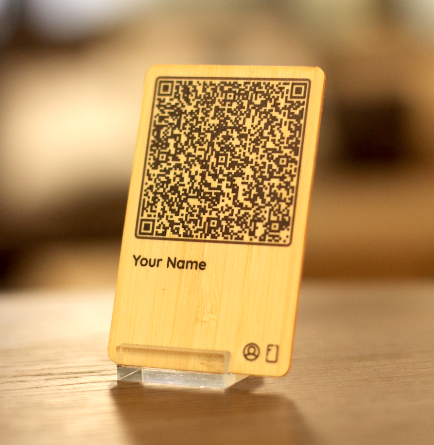 bamboo personal card