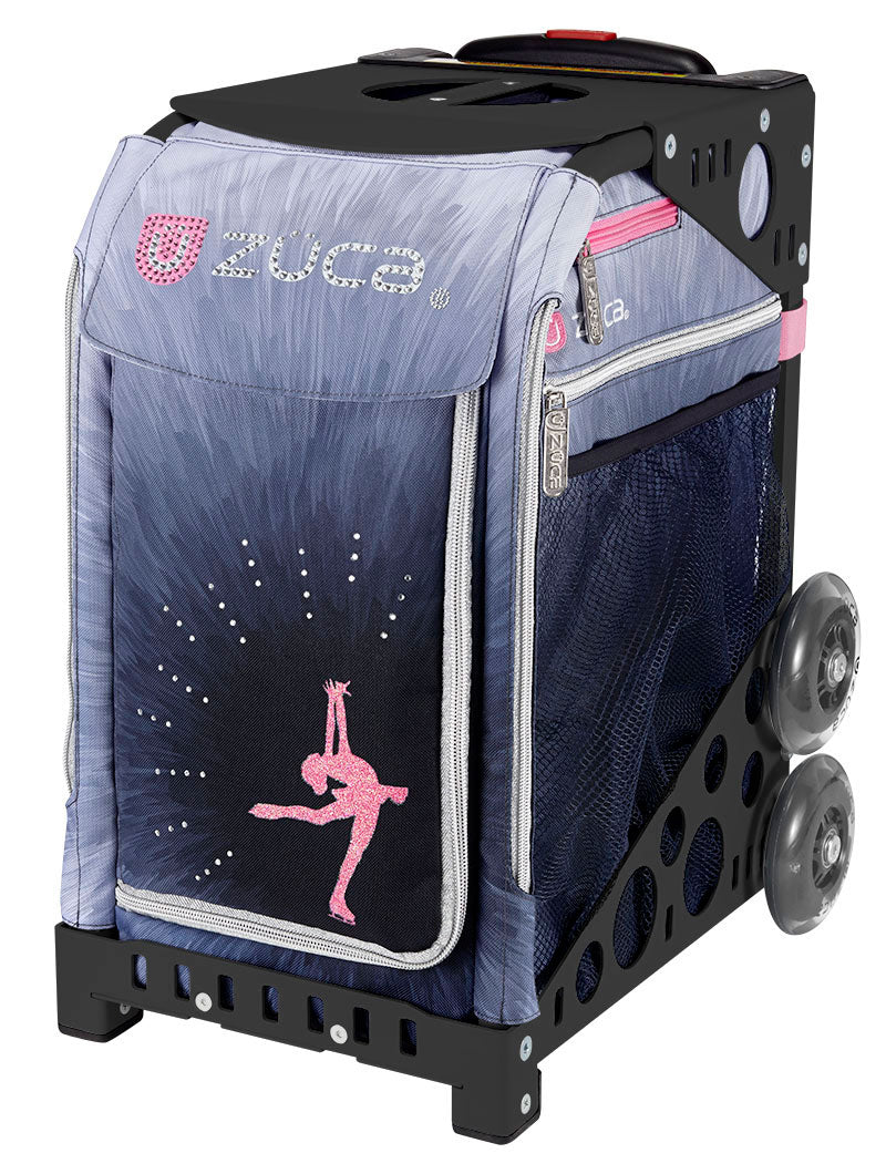 Zuca Rolling Skate Bag Ice Dreamz Lux