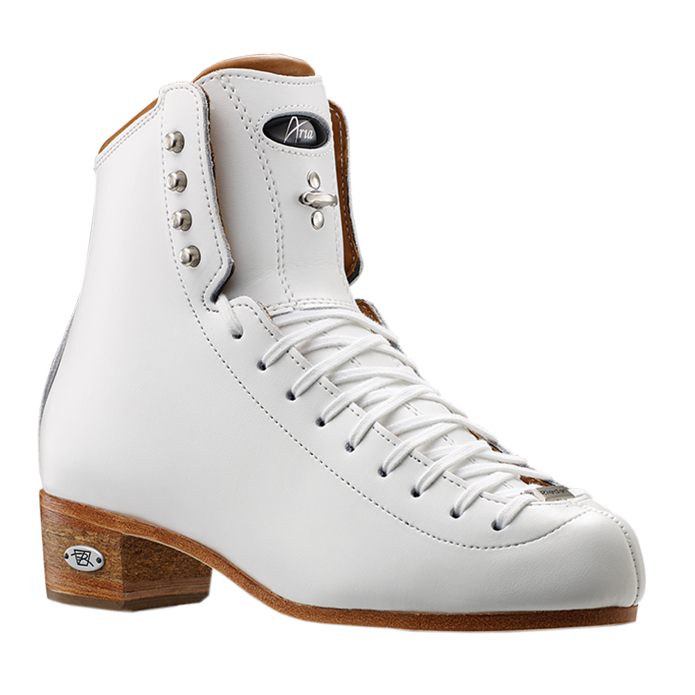 Riedell 3030 Aria White Boot Only Size 4-10