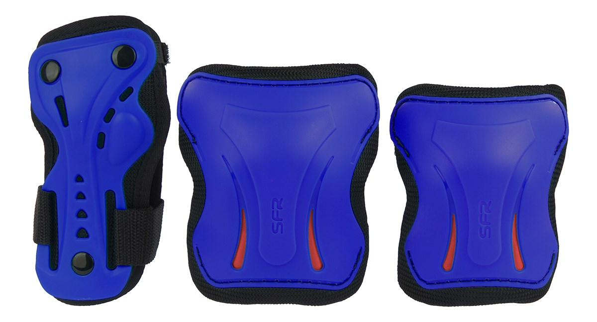 SFR Essential Triple Pad Set Blue - Kids