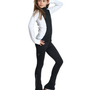 Jiv Dynamic Jacket Size Junior 130- Black & White