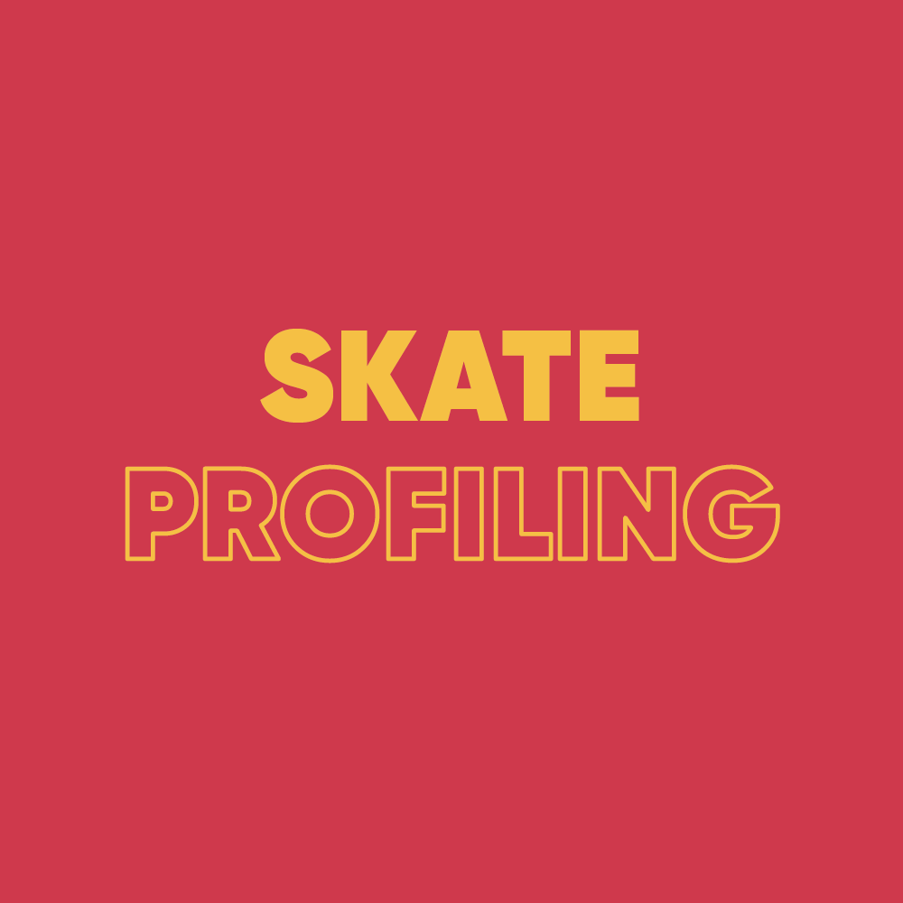 Hockey Skating and Figure Skating Skate Profiling
