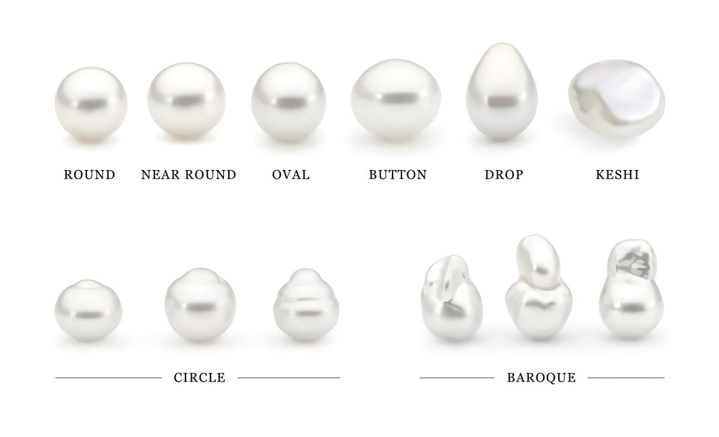 Different Pearl Shapes for Different Designs