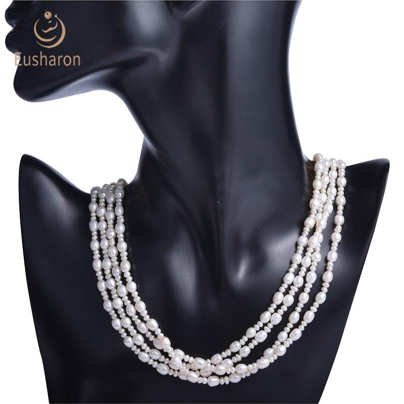 rice pearl neckalce wholesale
