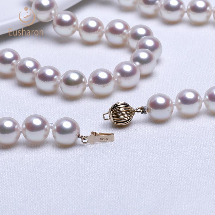 akoya pearl necklaces bulk