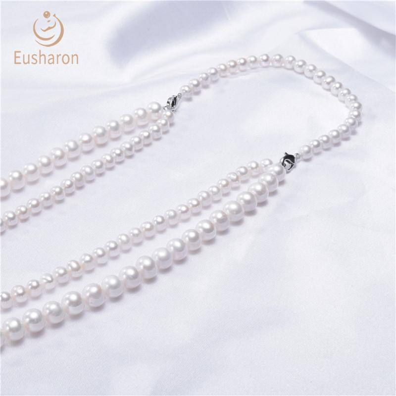 pearl necklaces in bulk