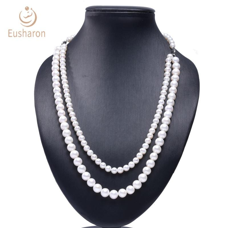 two strand pearl necklace wholesale