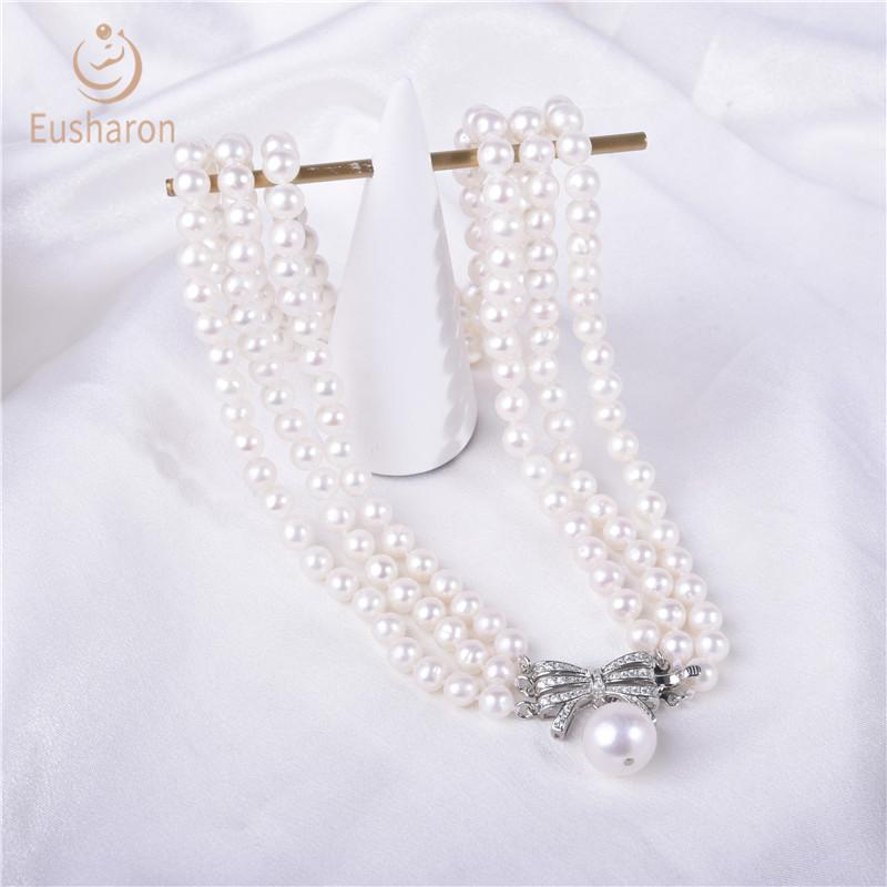 freshwater pearl necklaces in bulk