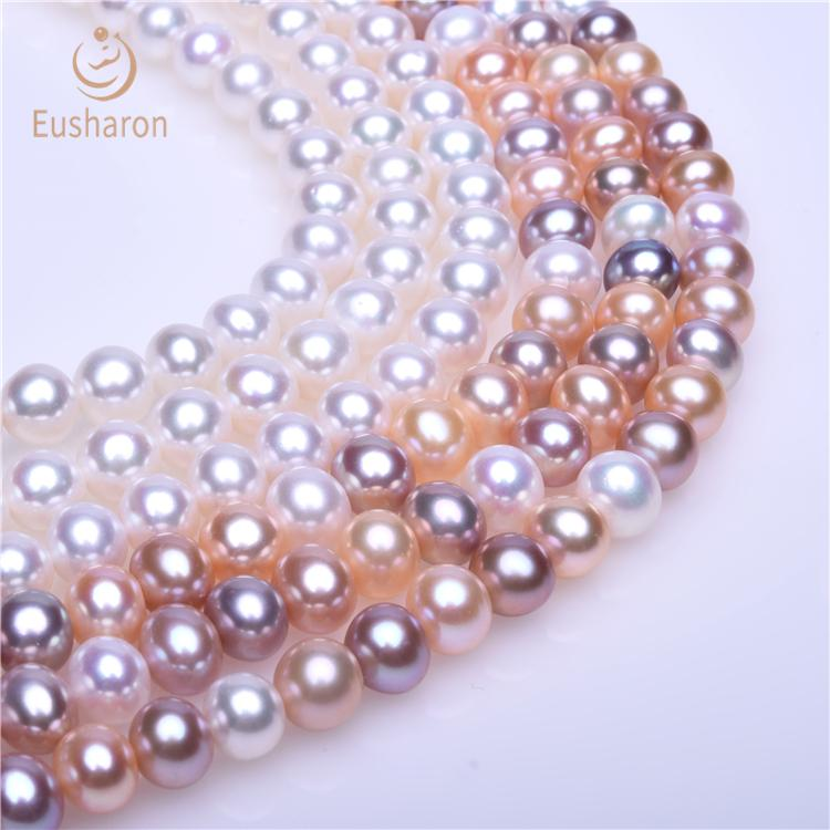 near round pearl strands wholesale