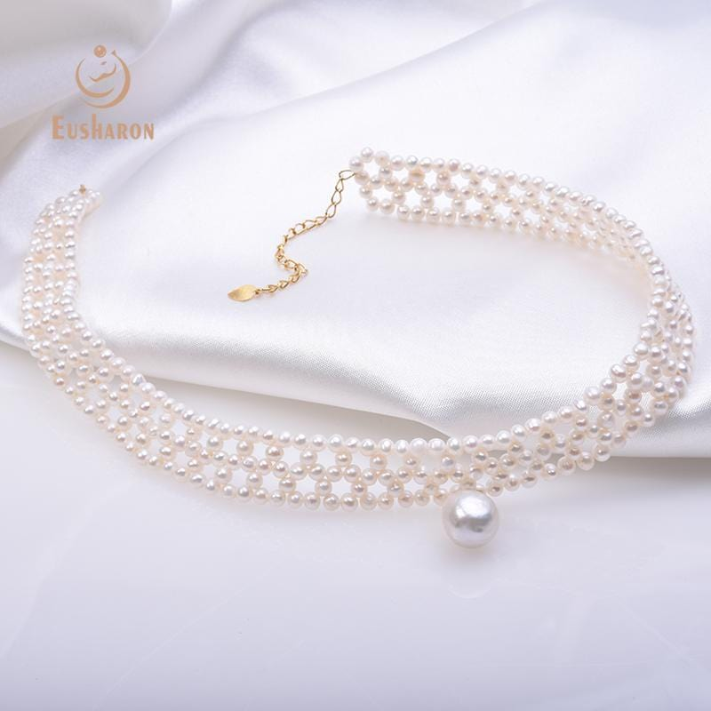 wholesale cultured pearl chokers