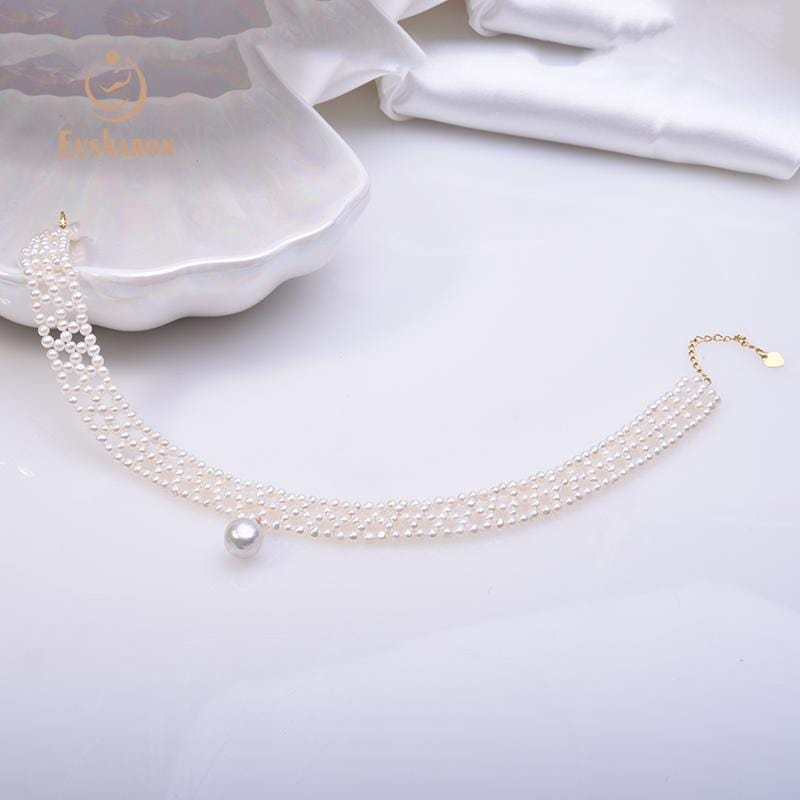 cultured pearl choker necklace wholesale