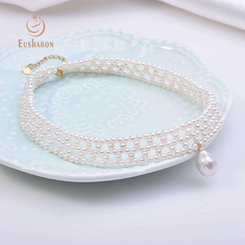wholesale pearl choker necklace