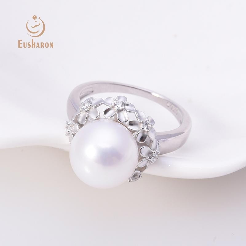 flower round pearl ring wholesale