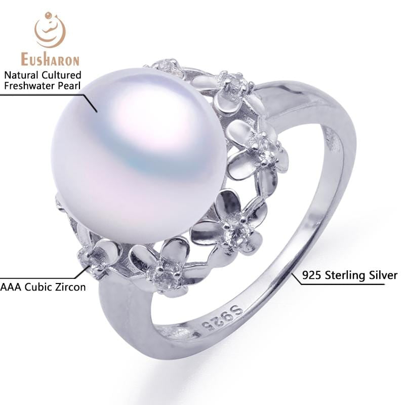 flower pearl ring wholesale