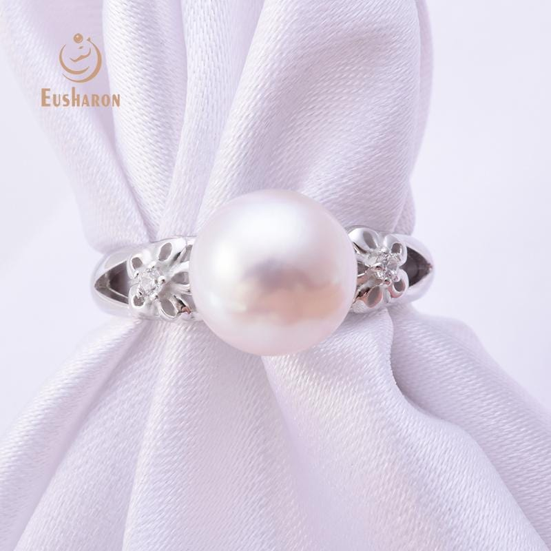 wholesale flower pearl ring