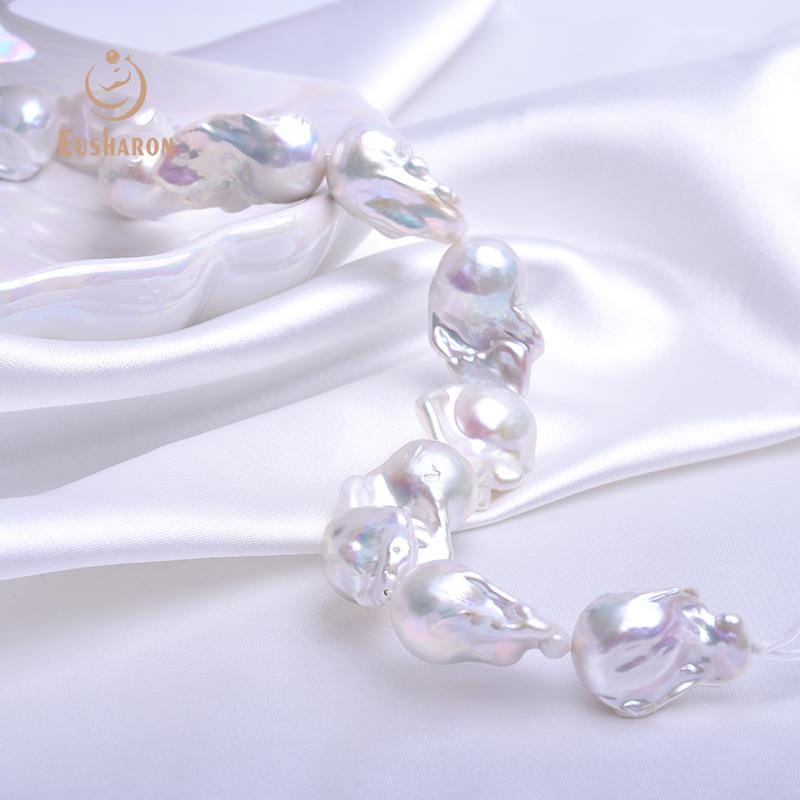 15-22mm Huge Baroque Edison Pearl Strand