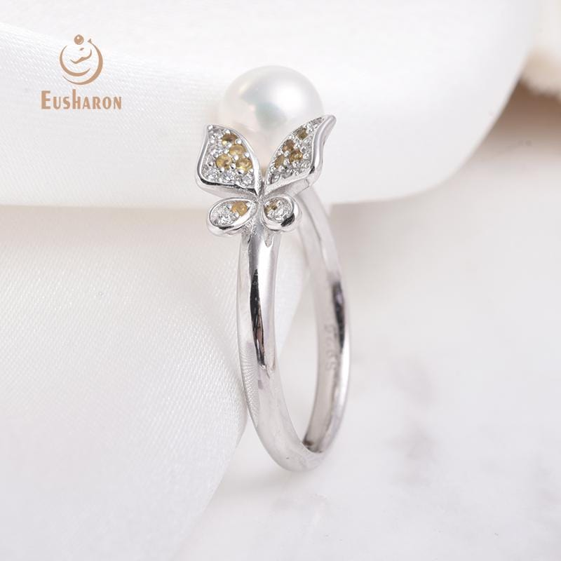 silver pearl ring wholesale