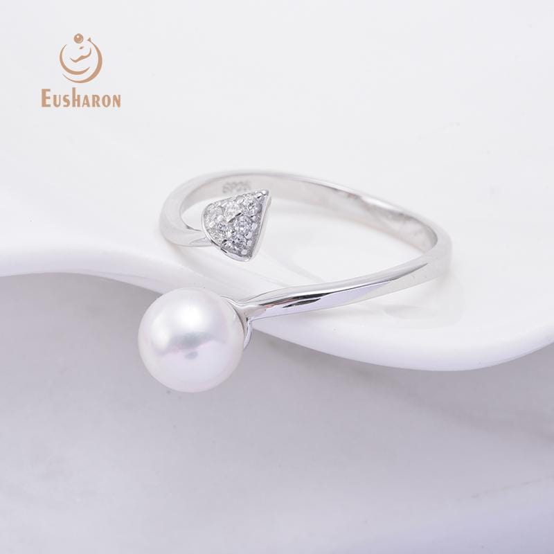 925 sterling silver pearl rings wholesale