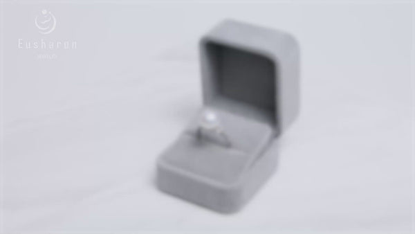 wholesale engagement silver pearl rings