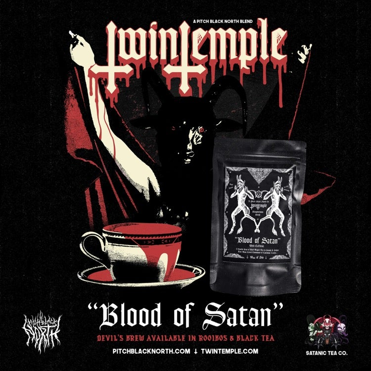 Blood Of Satan  Rooibos - Twin Temple