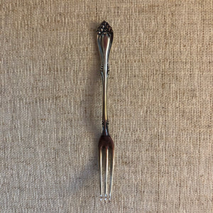 """Mary Gayle"" Cocktail Fork"