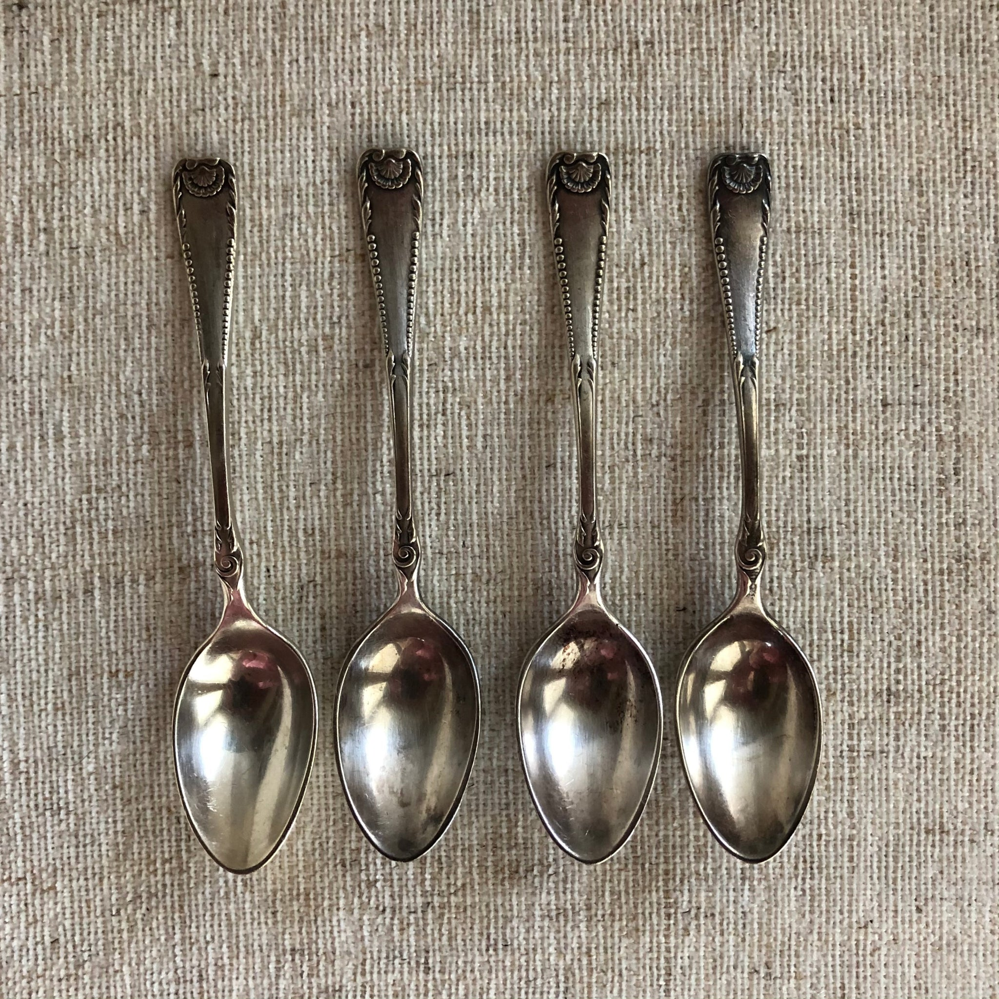 Southern Shell Demitasse Spoon