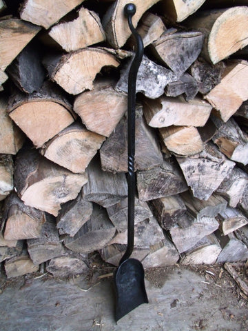 Wood Ash Stove Shovel, Ball End